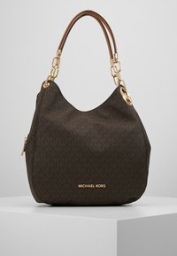 MICHAEL Michael Kors - LILLIE CHAIN TOTE  - Shopping bags - acorn - 0