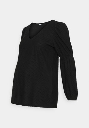 PCMGERALDINE SLEEVE  - Blouse - black