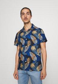 Selected Homme - SLHREGJOEL CAMP - Skjorta - dark blue - 0