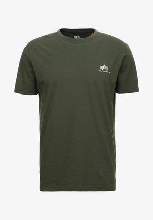 BASIC T - Basic T-shirt - dark oliv