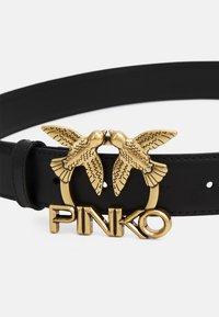 Pinko - LOVE ASTER HIPS SIMPLY  BELT - Ceinture - black - 2