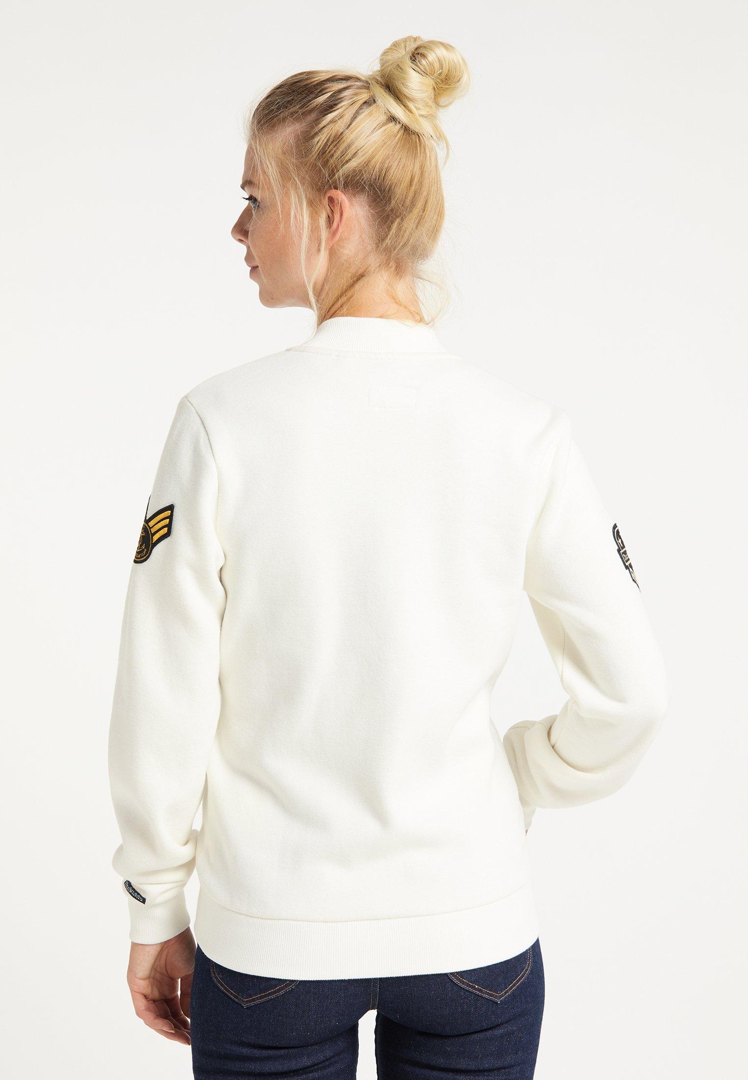 2020 New Women's Clothing DreiMaster Sweatshirt wollweiss AiCIReVRB