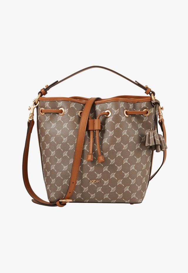 Handbag - nude-braun