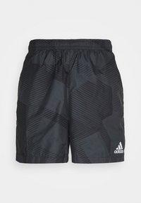 adidas Performance - GRAPHIC SEASONAL - Urheilushortsit - carbon/black - 0
