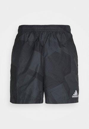 GRAPHIC SEASONAL - Korte sportsbukser - carbon/black