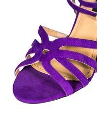 Alberto Zago - GRETA - Sandales à talons hauts - royal purple - 5