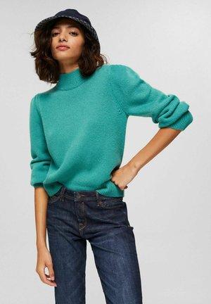 Sweater - aqua green