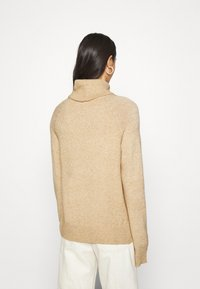 Vila - VIRIL COWL NECK - Jumper - beige - 2