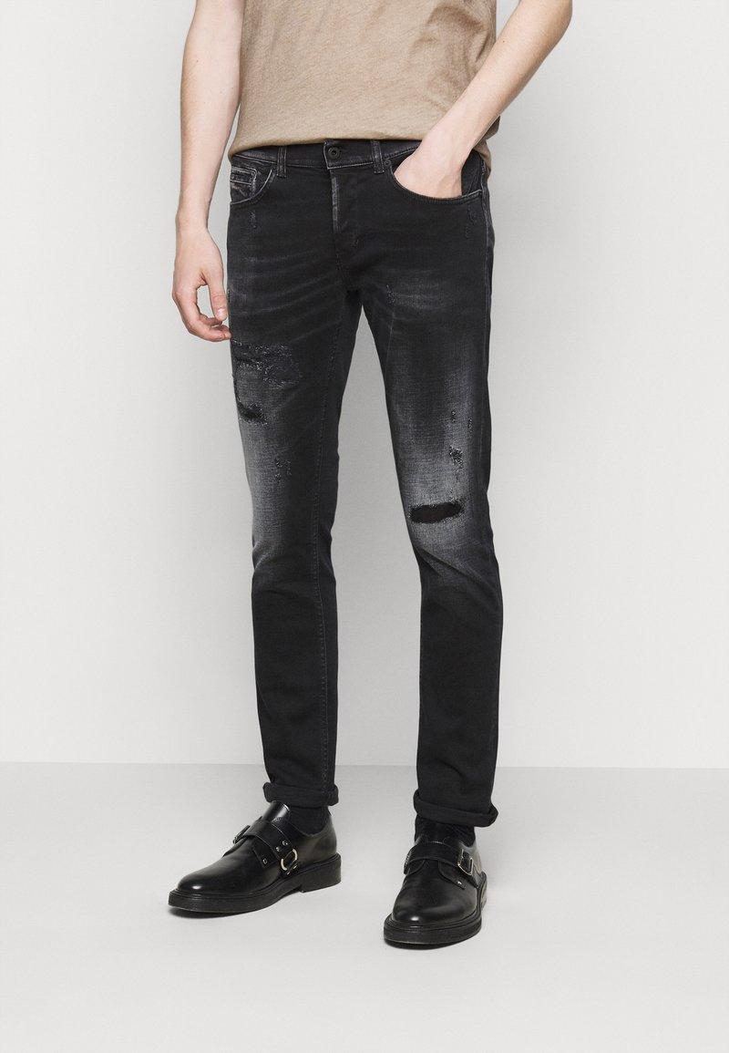 Dondup - Slim fit jeans - black