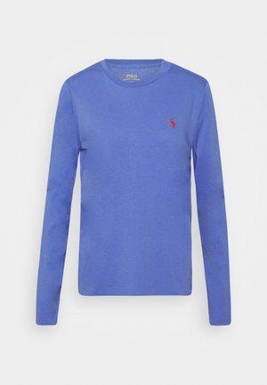 Topper langermet - resort blue