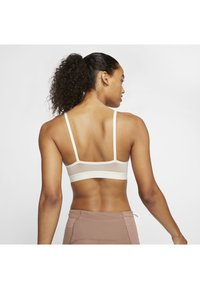 Nike Performance - NIKE INDY ICON CLASH WOMEN'S LIGHT-SUPPORT TOGGLE SPORTS BRA - Sports bra - pale ivory/shimmer/sapphire - 2