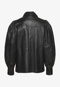 Ibana - TALIA - Button-down blouse - black - 1