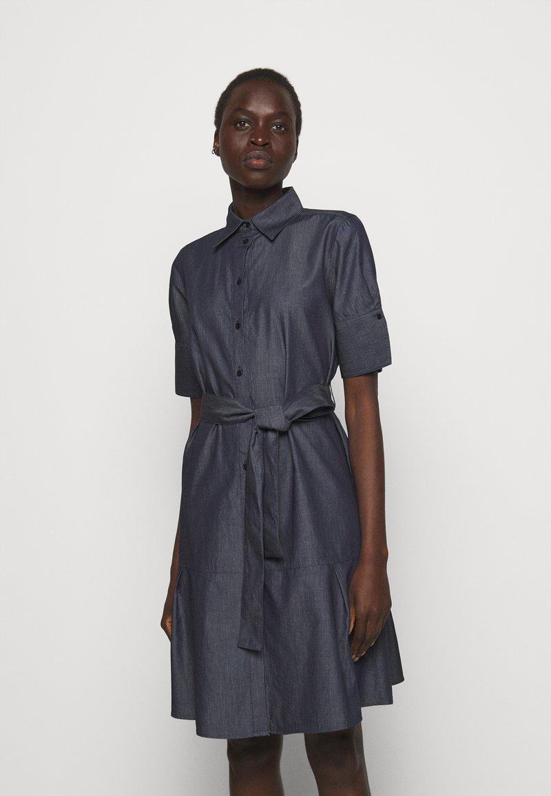 HUGO - ELITH - Denim dress - open blue