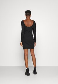 Even&Odd - Žerzejové šaty - black - 2