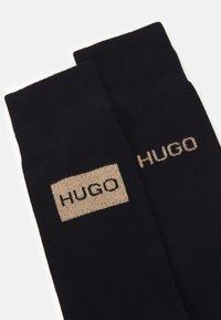 HUGO - 2 PACK - Ponožky - black - 2
