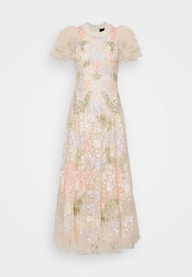 ELIN BLOSSOM ANKLE GOWN - Vestido de fiesta - champagne
