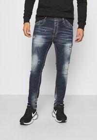 Alessandro Zavetti - CHEILLINI SUPER SLIM - Slim fit jeans - indigo - 0