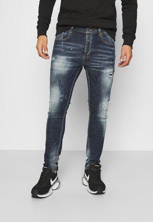CHEILLINI SUPER SLIM - Slim fit jeans - indigo