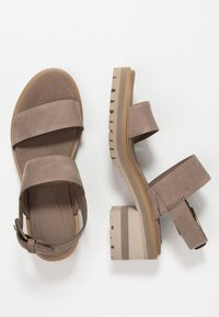 Timberland - VIOLET MARS 2 BAND SANDAL - Sandály - taupe - 3