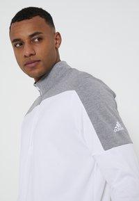adidas Golf - ZIP LIGHTWEIGHT - T-shirt à manches longues - white - 3