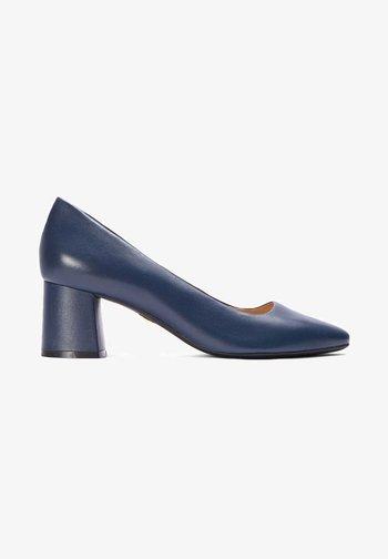 GAURA - Classic heels - navy blue