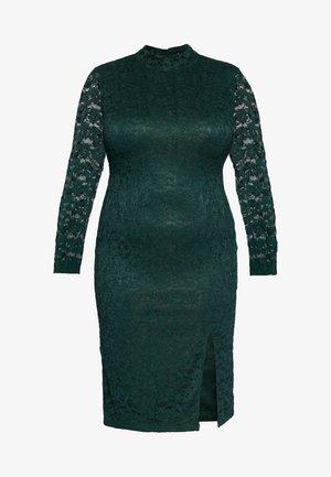 OPEN BACK DRESS - Cocktail dress / Party dress - green