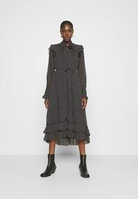 AllSaints - LARA DOT DRESS - Day dress - black - 0