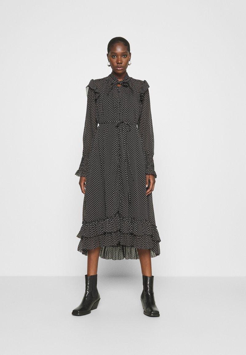 AllSaints - LARA DOT DRESS - Day dress - black