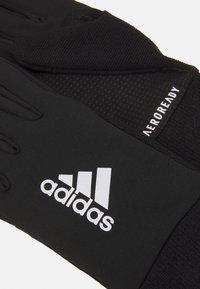 adidas Performance - UNISEX - Gloves - black/silver - 1