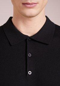 Bruuns Bazaar - GERHARD - Polo shirt - black - 4