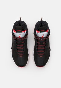 Jordan - AIR XXXV UNISEX - Basketball shoes - black/fire red/reflect silver - 3