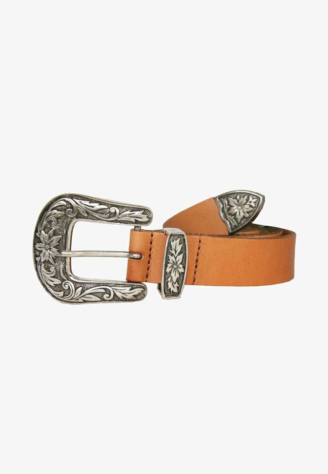 MIT AUFFÄLLIGER SCHLIESSE - Belt - orange