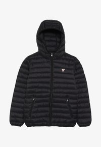 Guess - JUNIOR UNISEX PADDED PUFFER - Zimní bunda - jet black - 3
