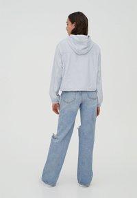 PULL&BEAR - Summer jacket - light blue - 2