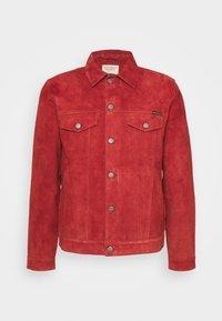 ROBBY - Lehká bunda - poppy red