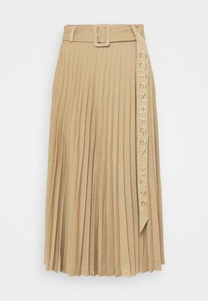AMINA - Spódnica plisowana - elmwood