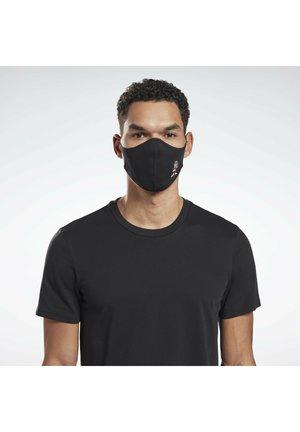 Stoffen mondkapje - black