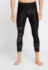 Under Armour - 2.0 LEG GRAPHIC - Tights - black/jet gray - 3
