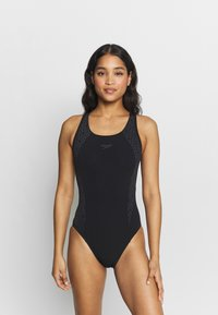 Speedo - BOOMSTAR - Swimsuit - black/grey - 0