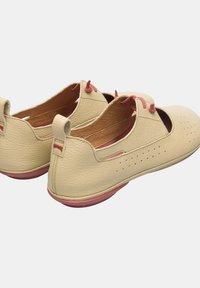 Camper - NINA - Ankle strap ballet pumps - beige - 3