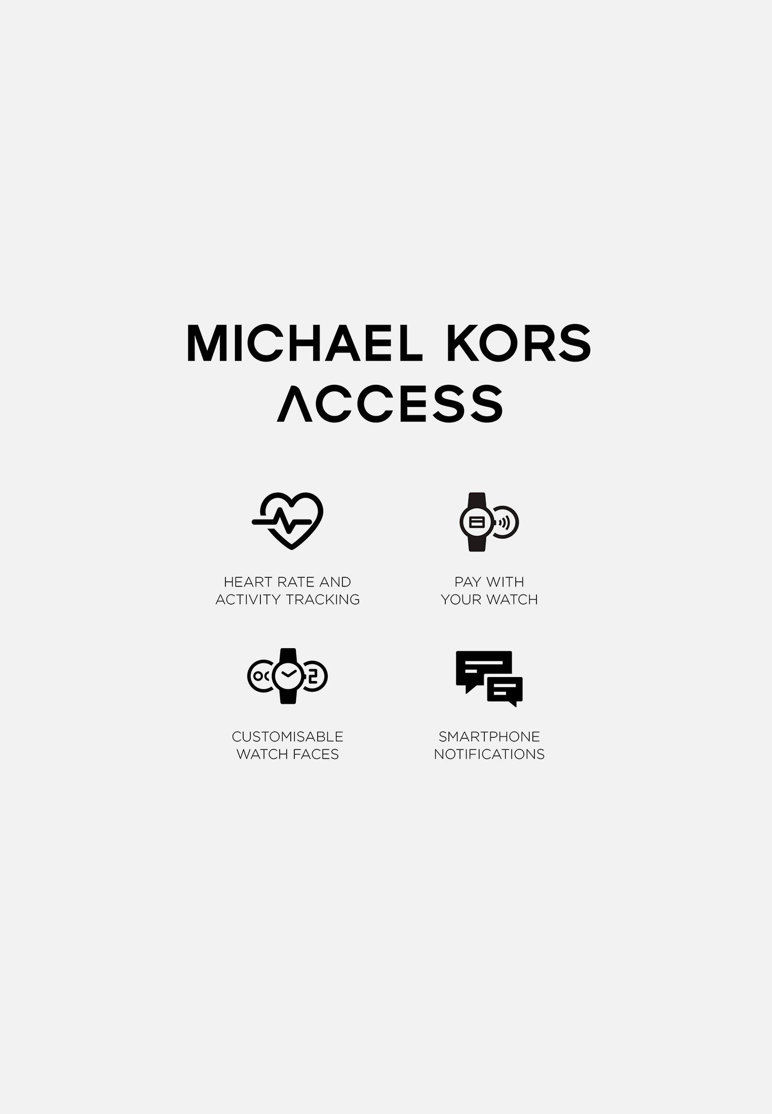 Michael Kors Access Runway - Smartwatch Roségold-coloured