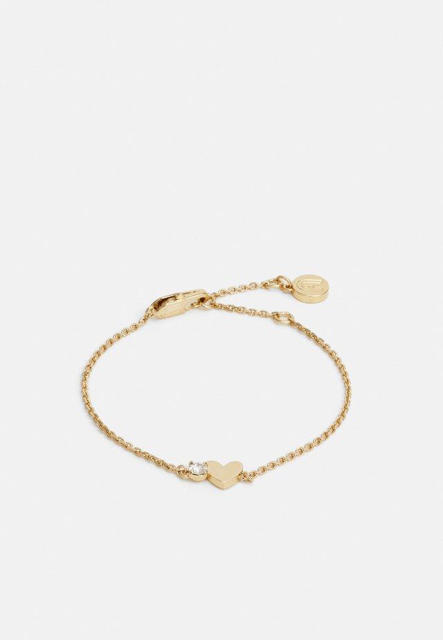 LOVE HEART BRACELET - Bracelet - oro