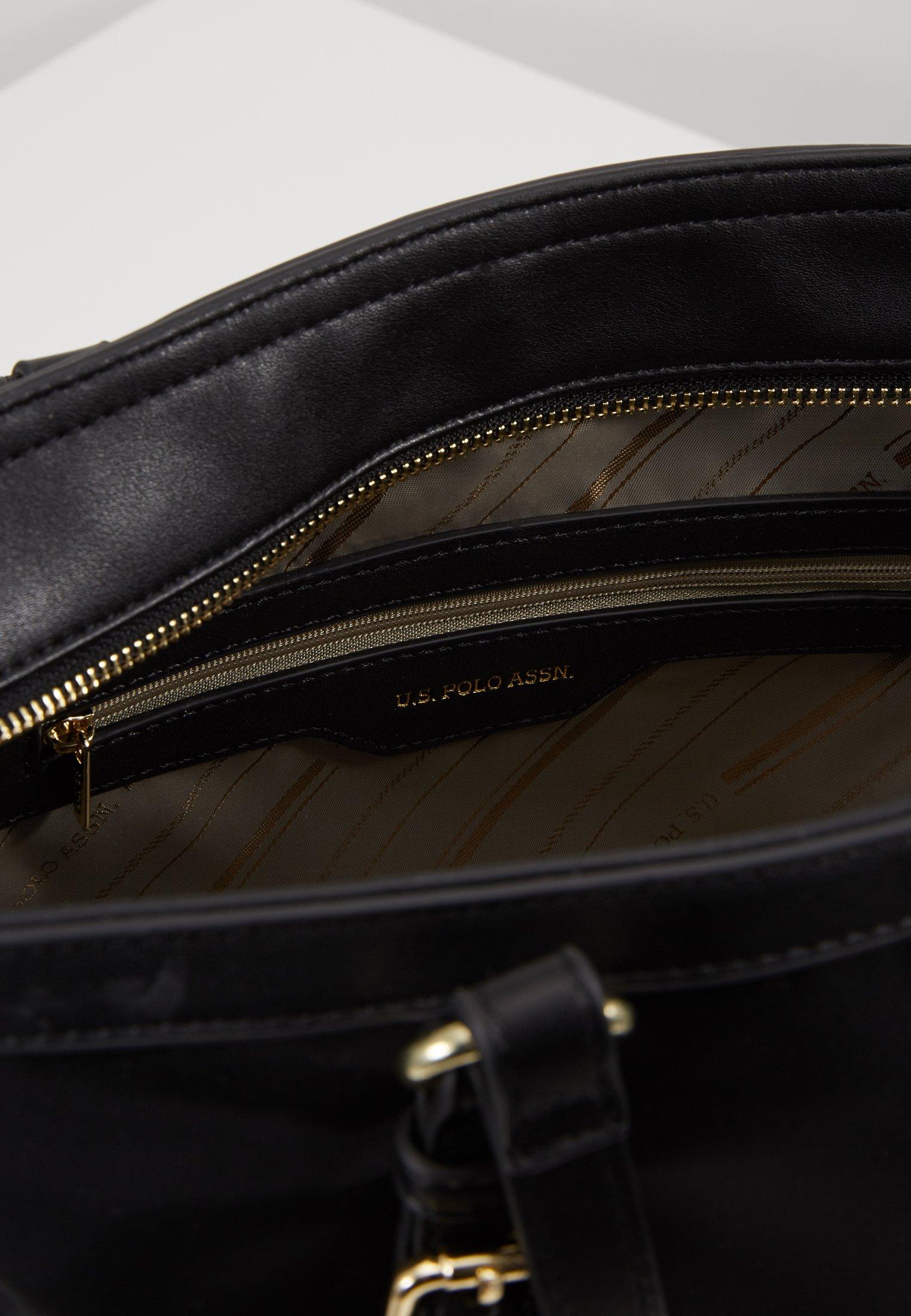 U.S. Polo Assn. HOUSTON - Håndveske - black/svart vU3efAvMV9sc5qb