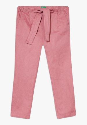 TROUSERS - Pantalones - mauve