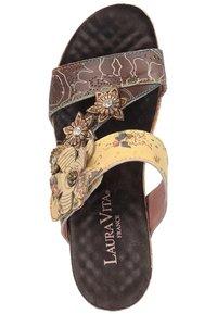 LAURA VITA - Sandály na vysokém podpatku - multi - 5