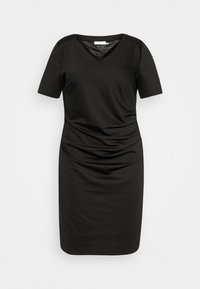 Kaffe Curve - KCINA DRESS - Day dress - black deep - 4