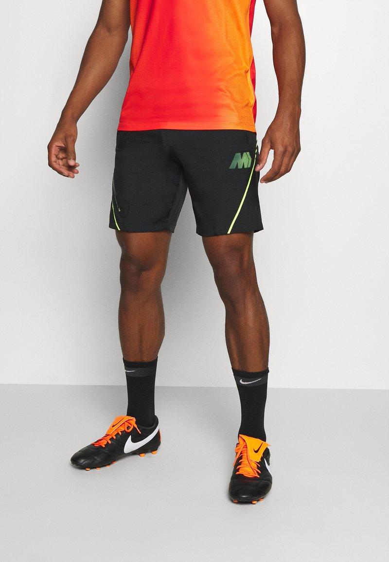 Nike Performance - DRY  - Korte broeken - black/volt