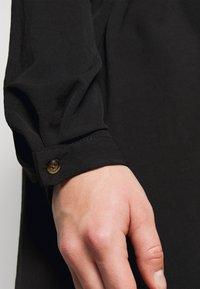 Evans - BUTTON OVERHEAD SHIRT - Blouse - black - 5