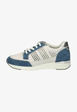 Sneakers laag - blue comb