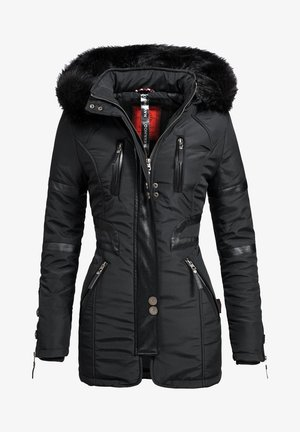 MOON - Winter coat - black